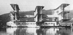 The Caproni Ca.60 Noviplano in 1921.