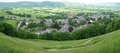 Panoramic view of Castleton from Peveril castle