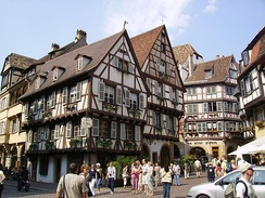 Colmar's old town