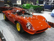 1967 Dino 206 S, front view