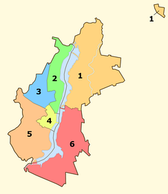Administrative districts of Voronezh