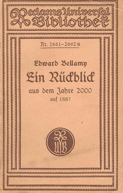 German Reclam edition 1919