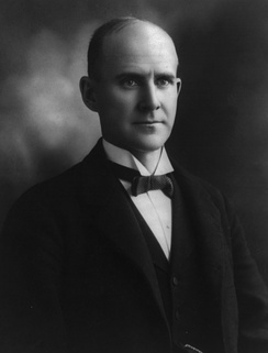 Eugene V. Debs, leader and presidential candidate in the early 20th century for the Socialist Party of America