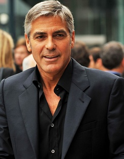 George Clooney at the premiere of The Men Who Stare at Goats in the 2009 Toronto International Film Festival