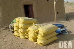 Hashish seized in Operation Albatross, a joint operation of Afghan officials, NATO, and the DEA