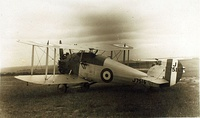Hawker Woodcock, similar to those which were flown by No. 17 Squadron from 1926 to 1928.