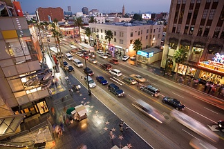 Hollywood, one of the city's best known neighborhoods
