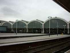 The 1904 trainshed (2011)