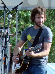 Blunt at a concert in Golden Gate Park in San Francisco, 2007