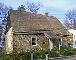 Jean Hasbrouck House (1721) on Huguenot Street in New Paltz, New York