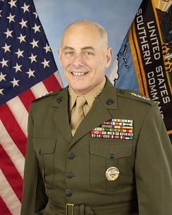 Kelly's official U.S. Southern Command portrait