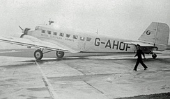 Ju 52/3m of British European Airways in 1947