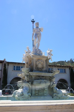Neptune Fountain, Malaga Cove Plaza