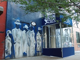 The Nuyorican Poets Café has been located off Avenue C and East 3rd Street since its founding in 1973