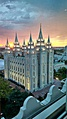 The Salt Lake Temple in Salt Lake City, Utah is the largest LDS temple.