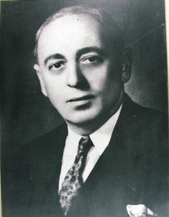 Zaki al-Arsuzi, politician who influenced Ba'athist thought and that after the Ba'ath Party splintered became the chief ideologist of the Syrian-dominated Ba'ath Party