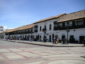 Tunja, capital of Boyacá