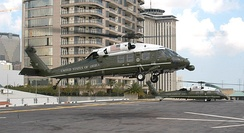 VH-60Ns used to transport the President of the United States