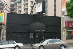 The Viper Room on Sunset Strip in Los Angeles, where Phoenix collapsed on the sidewalk and died