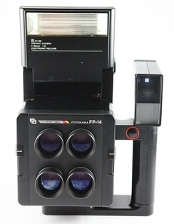 A Fuji FP-14, designed for use as a passport camera