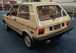 1987 Yugo GV in Los Angeles County, California