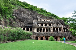Undavalli Caves, is a monolithic example of Indian rock-cut architecture and one of the finest testimonials to ancient viswakarma sthapathis.