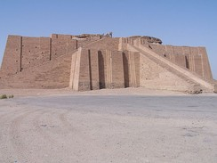 The Great Ziggurat of Ur near Nasiriyah.