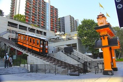 The Angels Flight (pictured), which was shut down for about four years, including at the time of the filming, was re-opened for a single day exclusively for the film to shoot a scene