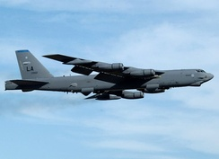 Boeing B-52H-160-BW of the 20th Bomb Squadron