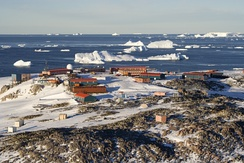 Dumont d'Urville Station, an example of modern human settlement in Antarctica