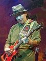 Carlos Santana, named by Rolling Stone magazine as one of the greatest guitarists of all time.[119][120] He has won 10 Grammy Awards and three Latin Grammy Awards.[121]