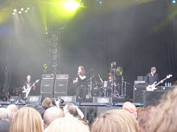 Cathedral performing at the Wacken Open Air festival in 2009