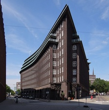 The Chilehaus in Hamburg by Fritz Höger (1921–24)