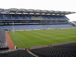 Croke Park stadium is the headquarters of the Gaelic Athletic Association.