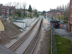 Phase 3 included the re-opening of the disused railway line through Didsbury