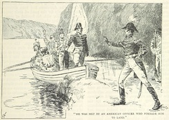 Attempts to perform a prisoner exchange were made on 11 October by Major Thomas Evans. Intelligence gathered from the attempted exchange led Evans to deduce an American attack was imminent.