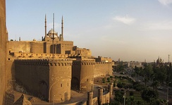 The Citadel of Cairo, with the Mosque of Muhammad Ali.
