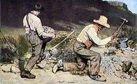 Gustave Courbet, Stone-Breakers, 1849.