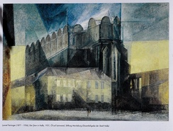 Lyonel Feininger, Dom in Halle, 1931, Cathedral of Halle, Germany