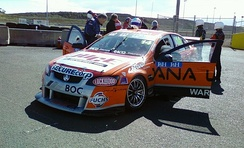 Bargwanna is driving a Holden VE Commodore for Brad Jones Racing in the 2011 V8 Supercars Championship.