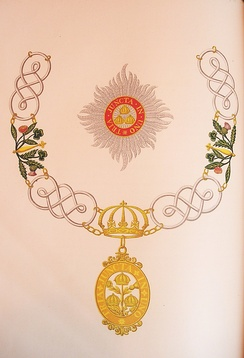 The insignia of a Knight Grand Cross of the civil division of the order