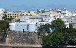 La Fortaleza, the Governor of Puerto Rico's mansion, built in 1533