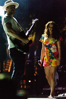 Del Rey performing at Coachella Festival in 2014.