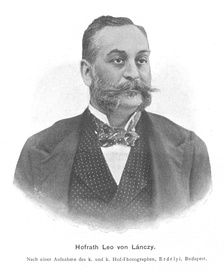 Leó Lánczy (1852-1921) was one of the richest persons in Hungary at the end of the 19th century