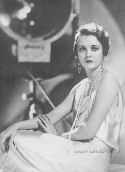 A 1931 publicity photo of Astor for Argentinean Magazine