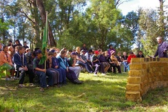 Australian Scouts attend Scouts' Own, an informal, spiritual Scouting ceremony