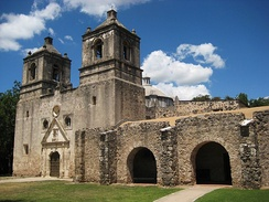 Mission Concepcion is one of the San Antonio missions which is part of a National Historic Landmark.