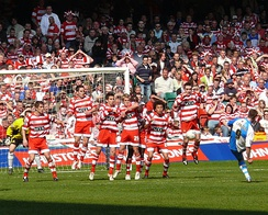 Doncaster Rovers vs Bristol Rovers in the 2007 Football League Trophy Final