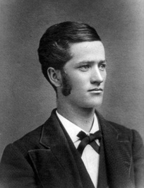 Robert M. La Follette's college yearbook photo, 1879