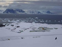 Rothera Research Station.